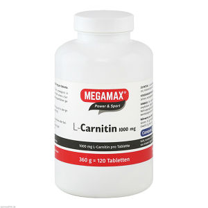MEGAMAX L-Carnitin 1000mg